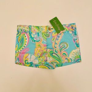 NWT Lilly Pulitzer shorts size 6
